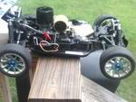 my t-max with a o.s tm.21,hpi fg g230rc1 1:5 scale & many more