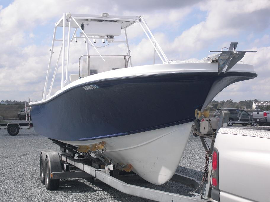 how to clean aluminum boat rails